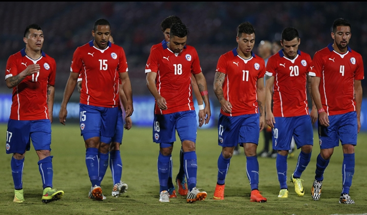 The squads are in: Chile names squad for upcoming WCQ2018 ... Chilean Soccer Team 2017